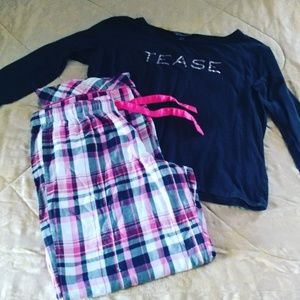 Pjs victoria's  secret set medium size